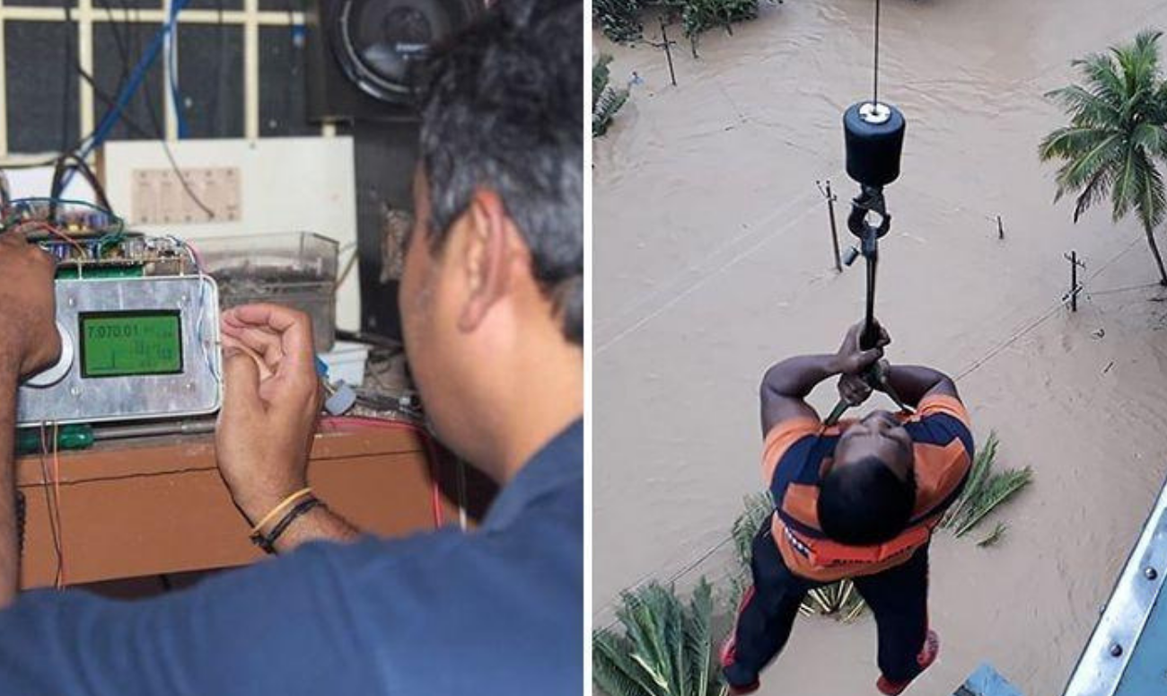 Help from amateur radio operators saves lives in Kerala catastrophe