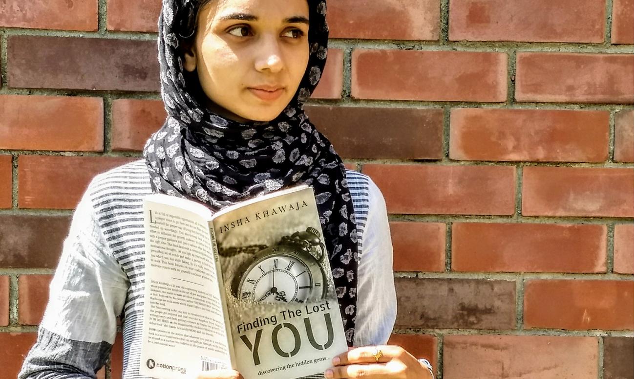 छोटी उम्र में डिप्रेशन से उभरकर लिखी किताब