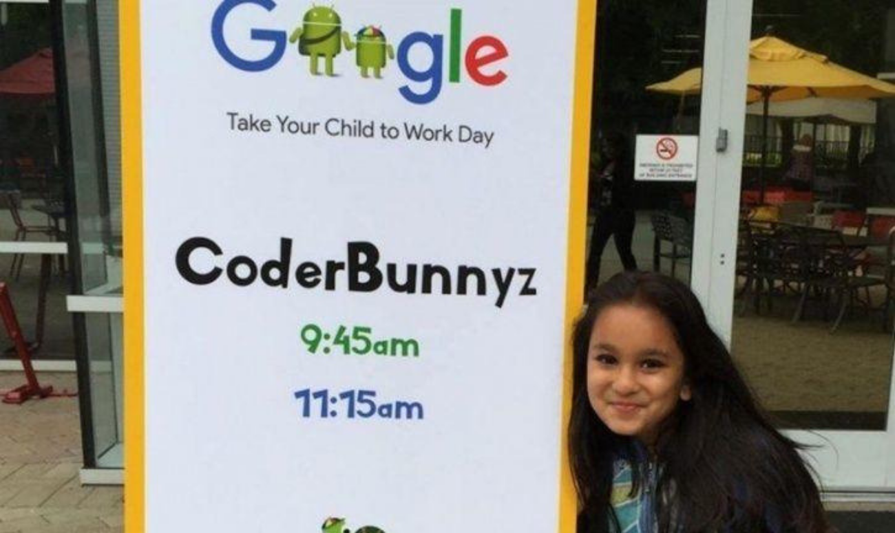 Ten-year-old child rejects Google job offer