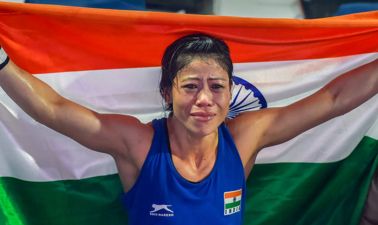 MARY KOM WINS SIXTH WORLD BOXING CHAMPIONSHIP TITLE
