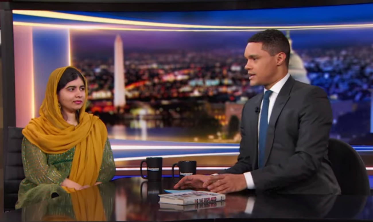 Video Inside: Malala Talks About Her Book On Refugee Girls
