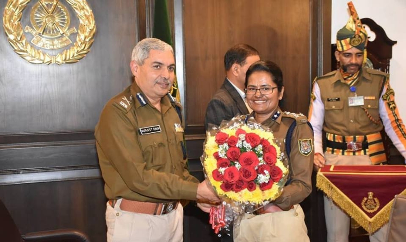 Being felicitated for visiting the south pole