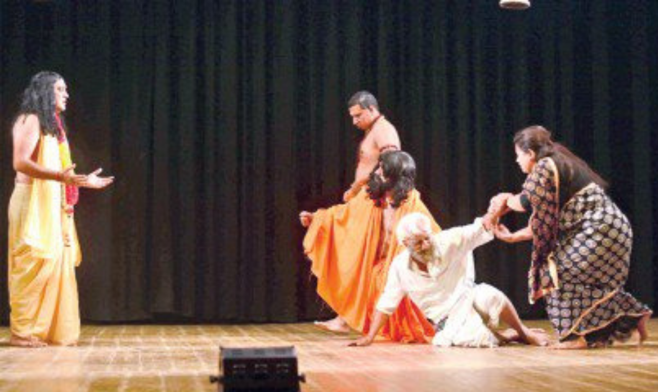 Traditional Indian folk theatre forms