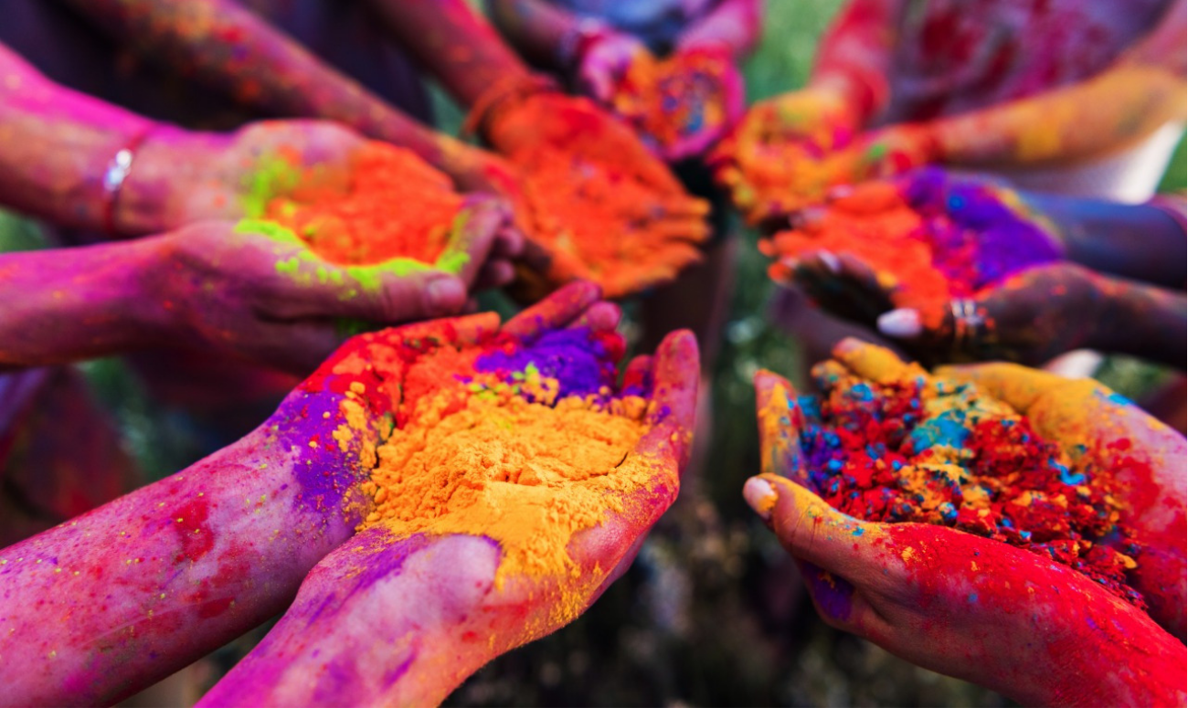 Best place to celebrate Holi in India
