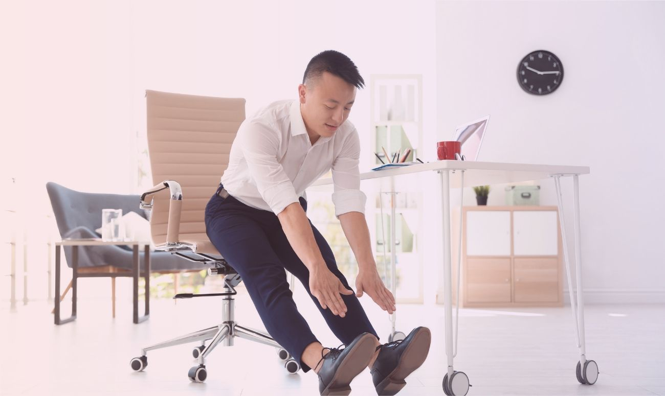 Now You Can Work-out While You Work!