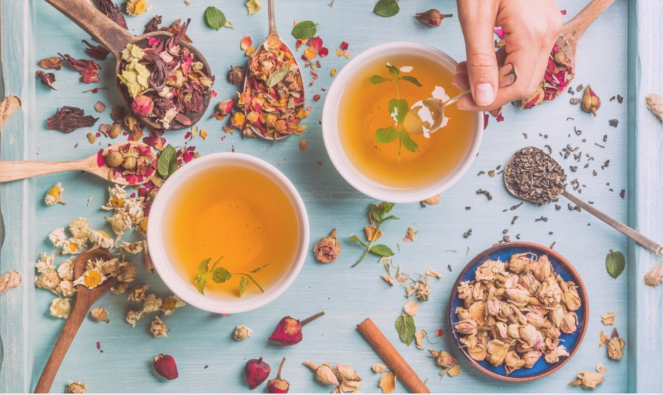 Herbal Teas For Healthy Skin And Body!
